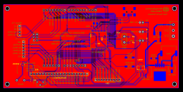 Replacement PCB For OP-320A HMI which gives partial Arduino compatability