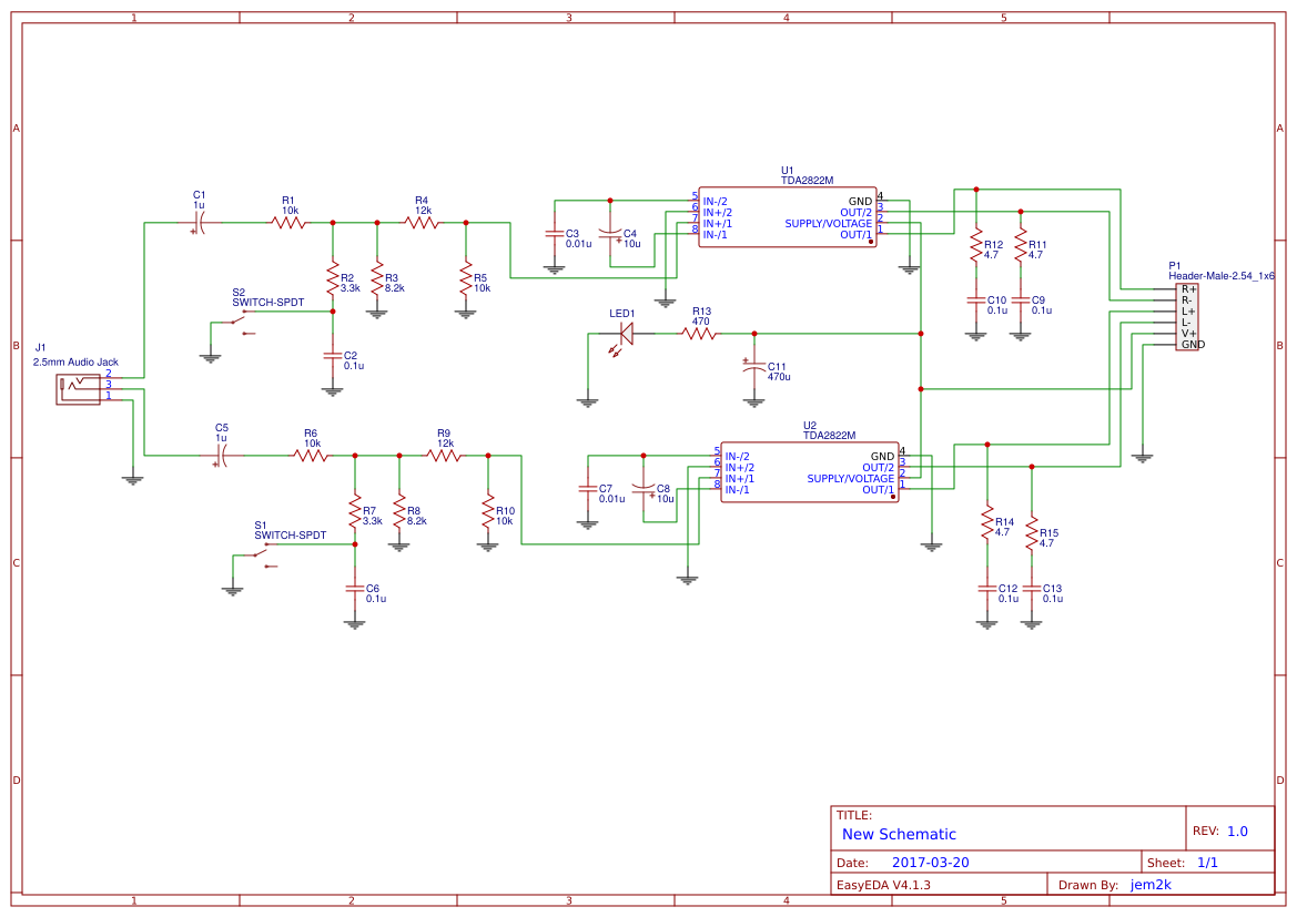 Amplifi Search Easyeda Tda2005 Audio Amplifier Circuit Diagram Electronic Project Default Thumb