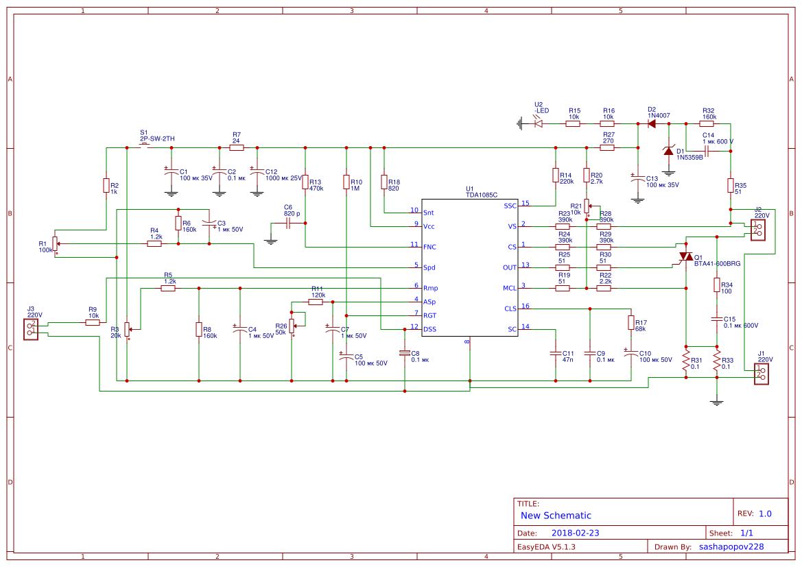 Explore Easyeda Figure 1 Tda2050 Typical Hifi Amplifier Schematic Tda1085