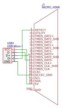 usb to hdmi converter - easyeda  easyeda