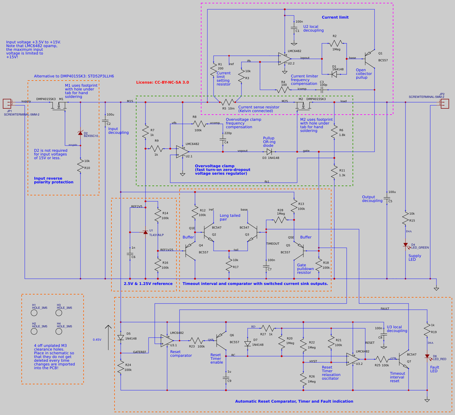 Uberclamp Schematic PCB and BoM
