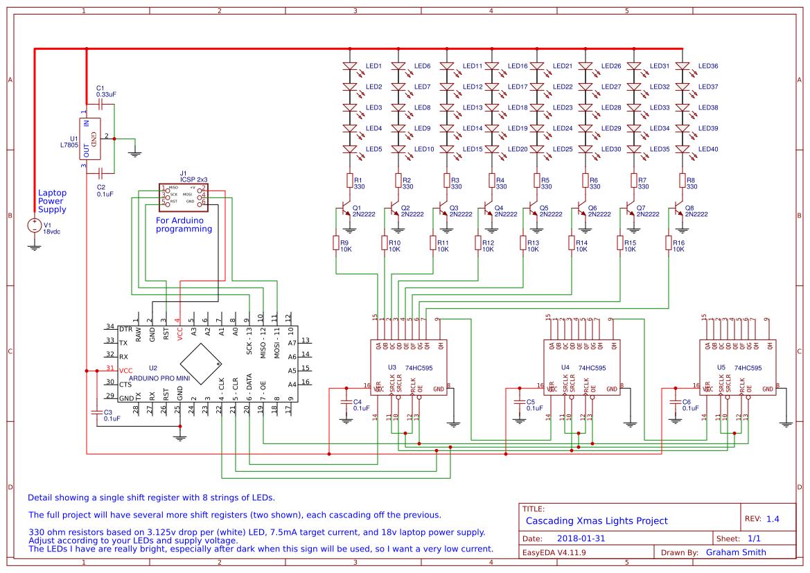 Explore Easyeda Mini Xmas Lights Wiring Diagram Cascading