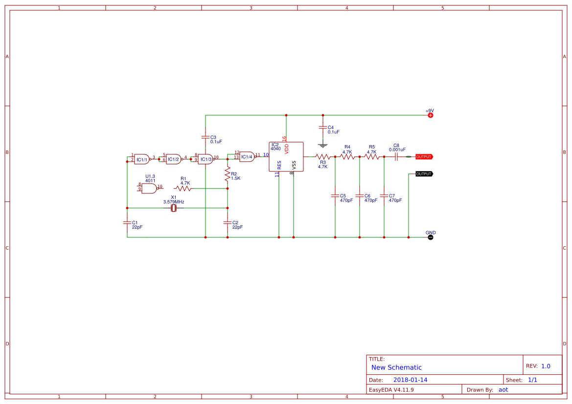 Chayapol Easyeda Frequency Generator Circuit 555 Tone Simple If Signal Using Cmos Ic