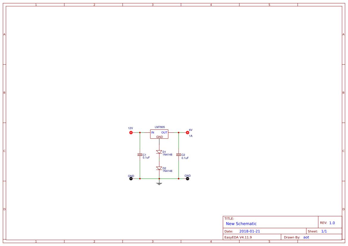 explore easyedathe step down 12 volts to 6 volts dc converter