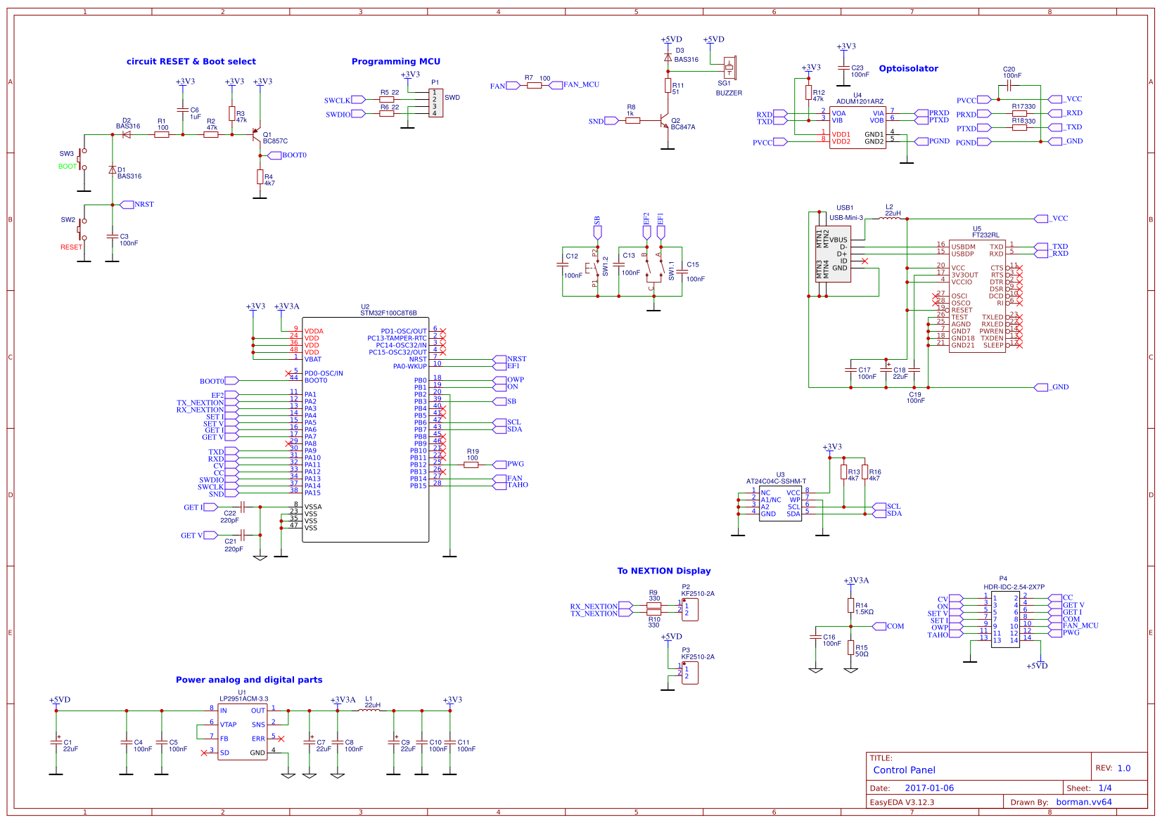Explore Easyeda Power Supply Using Lm 317 Lm337 Electronic Circuits And Diagram